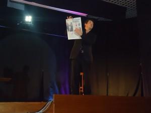 Alain performance al WEMM 2011 serata di gala del congresso magico partenopeo