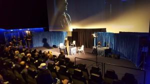conferenza nella sala cinematografica a Maribor